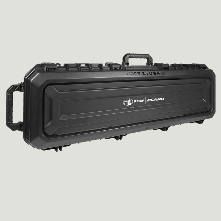 52″ All Weather Double Gun Case with Wheels